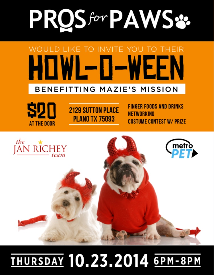 Howl-O-Ween 14' event, Oct 23rd 6pm-8pm